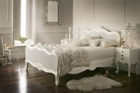 White Bedroom Furniture Ideas Extraordinary Bedroom Interior Decorating Ideas With White Wicker Rattan Bed Furniture Using