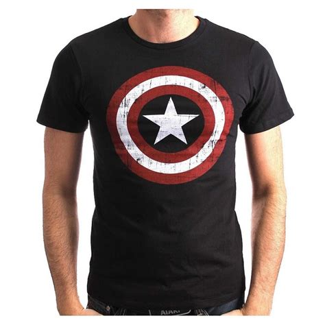 T Shirt Captain America Navy captain america t shirt bouclier navy imagin 232 res