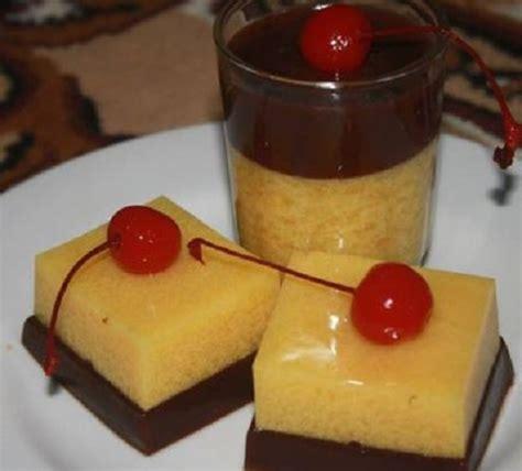 membuat puding nikmat resep dan cara membuat puding kentang biskuit coklat yang