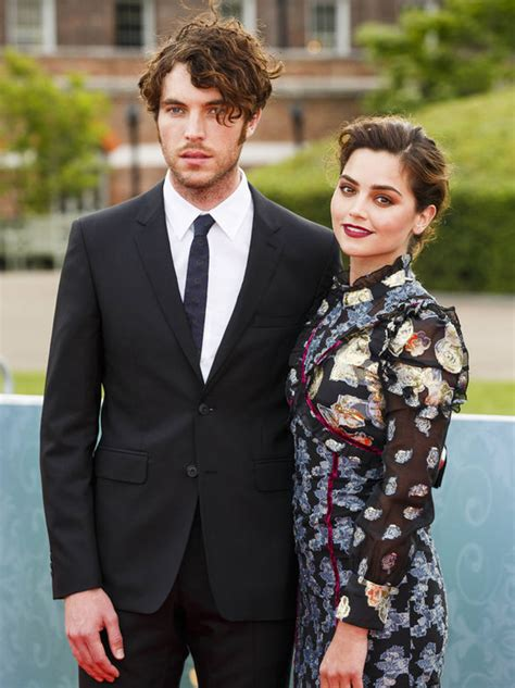 tom hughes jenna jenna coleman cosies up to victoria co star tom hughes in