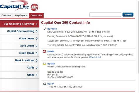 capital one 360 reviews 6 feedbacks discussions