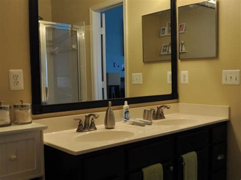 wood framed mirrors for bathrooms wood framed mirrors for bathrooms home design ideas