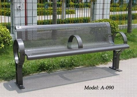 park benches metal durable metal park bench metal outdoor bench id 6918099 product details view