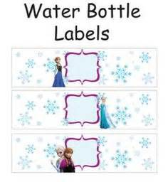 printable frozen drink labels 1000 images about frozen printable party ideas on