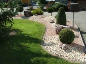 Vorgarten Gestalten Mit Kies Und Grasern Vorgartengestaltung Mit Kies 15 Vorgarten Ideen