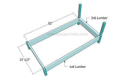 toddler bed frame plans how to build a toddler bed howtospecialist how to