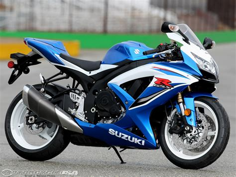New Suzuki Gsxr 600 2009 Suzuki Gsx R600 Comparison Motorcycle Usa