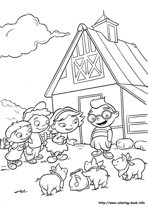 bunnytown coloring pages little einsteins coloring picture