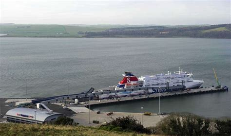 cairnryan and liverpool stena line arrival transport