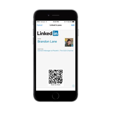 Adding Linkedin To Business Card