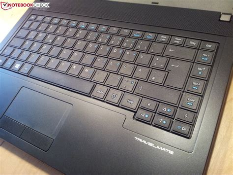Keyboard Acer Travelmate P243 review acer travelmate p243 m notebook notebookcheck net