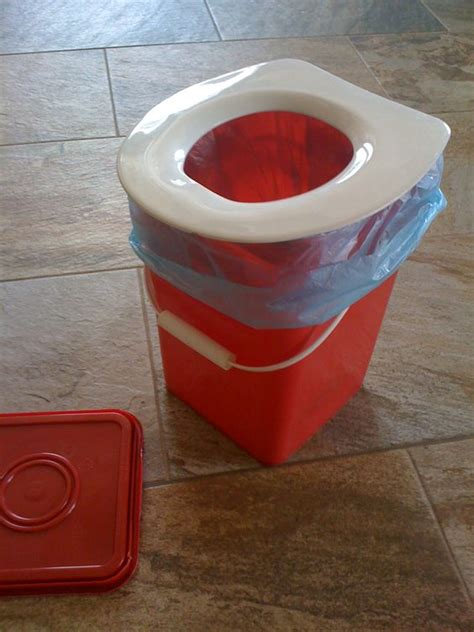 how do you take a toilet seat cing potty take any 5 gallon the square ones