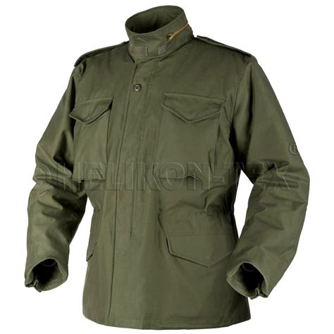 Jaket Army helikon genuine m65 field jacket parka army coat
