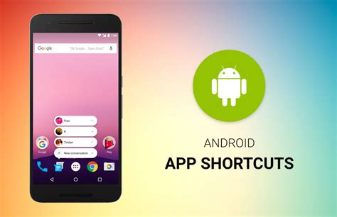 android shortcuts android 7 1 app shortcuts techjini