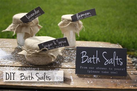 how to use bath salts in the shower diy bridal shower favors diy bath salts free printables and much more