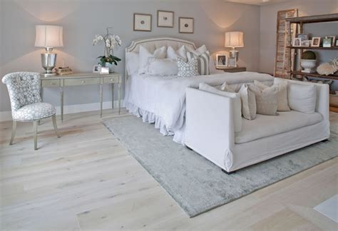 white bedroom carpet wide oak plank finished in white creates that warm french