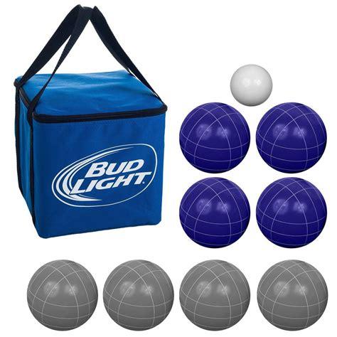 lighted bocce ball set bud light bocce ball set regulation size ebay