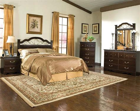 American Freight King Size Bedroom Sets by Brown Set With Marble And Brass Sorrento Panel