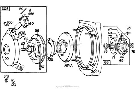 briggs and stratton recoil starter assembly diagram briggs and stratton recoil starter assembly diagram 28