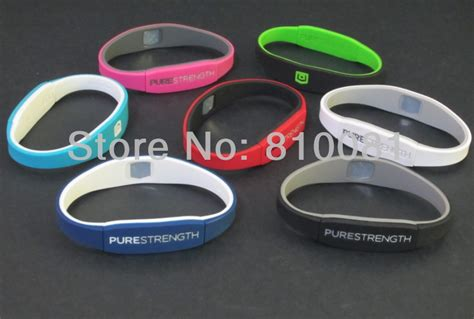 Aliexpress.com : Buy Mix 12 colors 3 sizes Silicone endevr Pure Strength Balance Bracelets