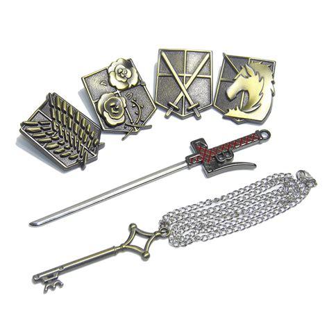 Phone Attack On Titan Scout Legion shingeki no kyojin attack on titan metal emblem badge