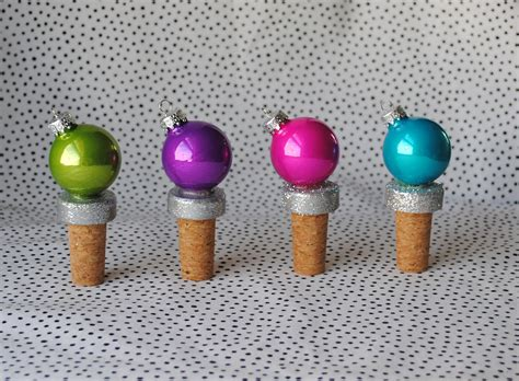 Handmade Bottle Stoppers - handmade holidays festive bottle stoppers domestikatedlife