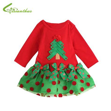 girls christmas dress long sleeve baby kids halloween