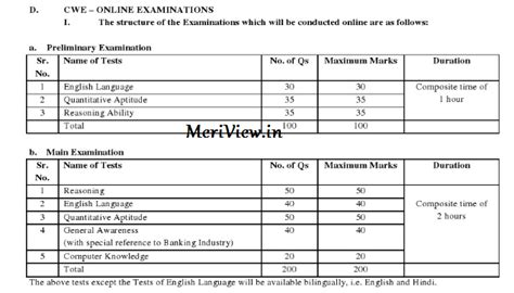 english pattern for ibps po exams timetable 2015 images
