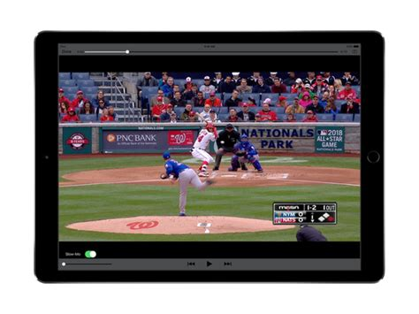 Blender National Mbl 401 mlb teams with apple for ipads in the dugout
