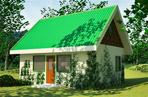 Small Green Home Plans by Green House Plan
