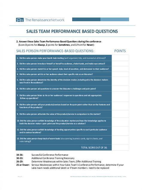 Appraisal Letter To Sales Team 19 team evaluation form sles