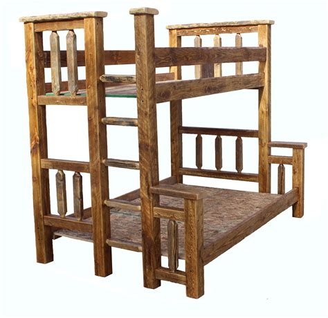rustic bunk bed barn wood bunk bed rustic twin over twin breck bears