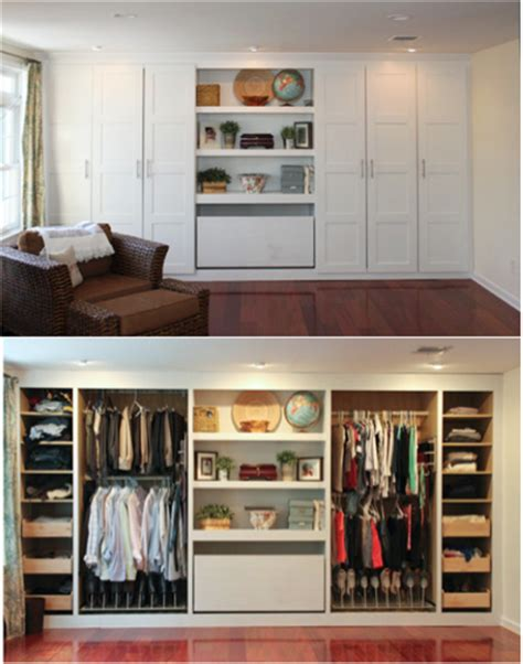 Built In Closet Diy by In With This Diy Built In Closet So Subtle And So