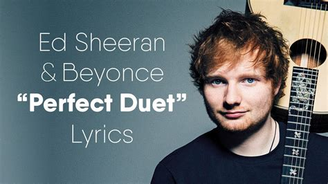 ed sheeran perfect music video youtube ed sheeran perfect duet lyrics lyric video ft