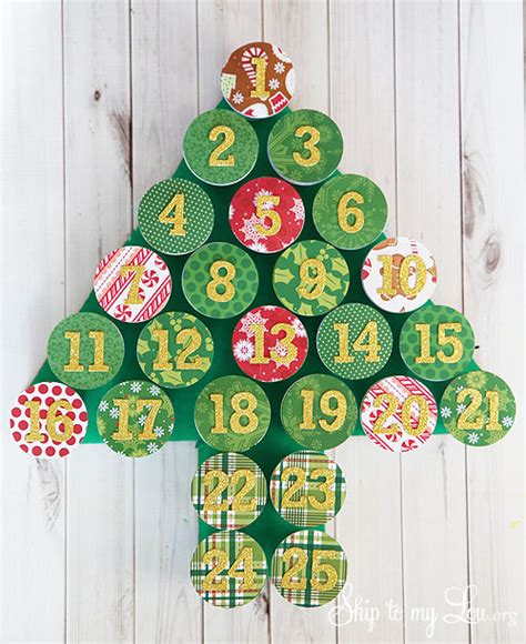 Are Calendars Recyclable Recycled Advent Calendar Skip To My Lou