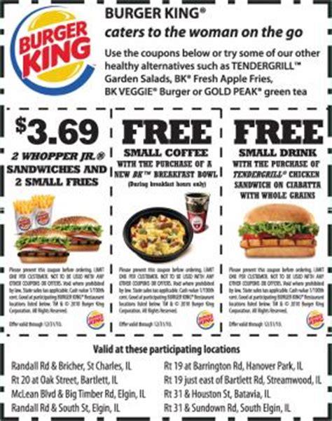food restaurant coupons printable burger king coupons printable coupons online