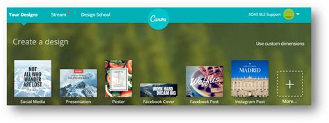 canva vt e learning at soas create beautiful graphics with canva