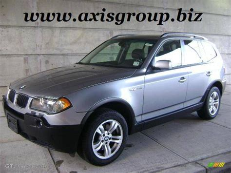 bmw 2005 x3 2005 bmw x3 silver 200 interior and exterior images