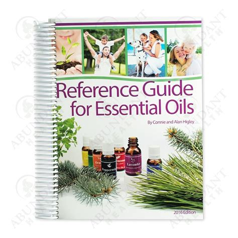young living essential oils desk reference hardcover reference guide for essential oils