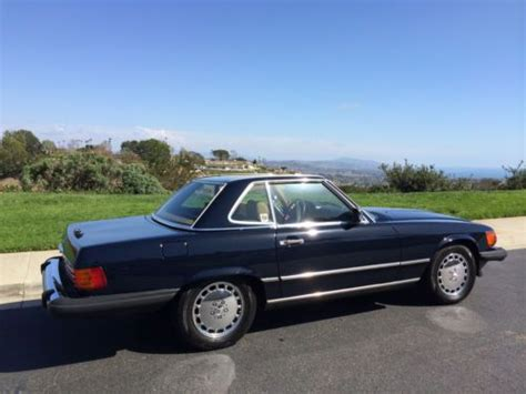 mercedes laguna niguel car wash buy used navy blue new paint new convertible top chrome