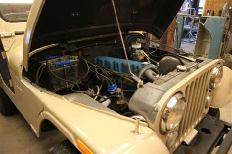 desert tan jeep liberty buy used 1974 jeep cj5 desert tan tons of new parts in