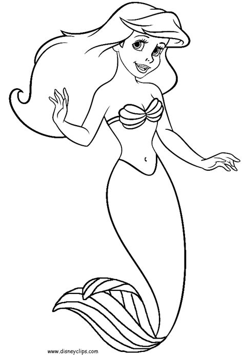 coloring page for little mermaid week 10 rockstaraly s design blog