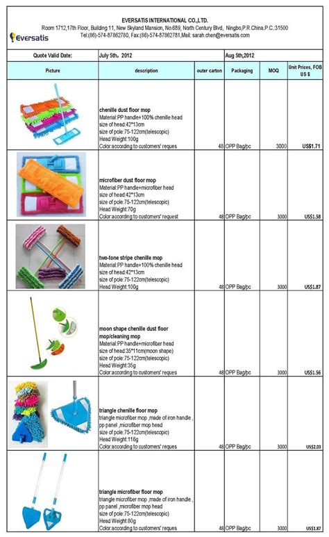house cleaning supplies list house cleaning products mops price list