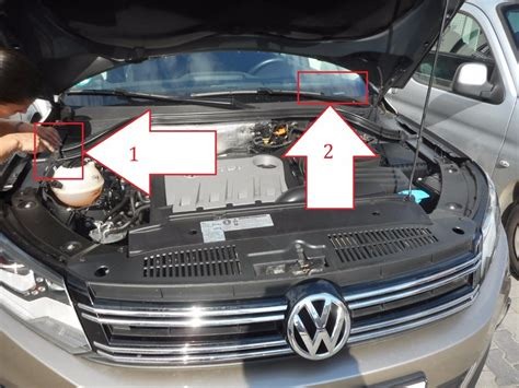 Where Is Vin by Volkswagen Tiguan 2011 2014 Where Is Vin Number Find