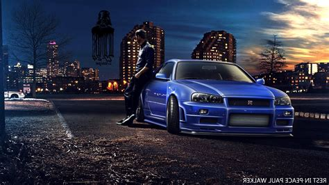 nissan skyline fast and furious 7 paul walker fast and furious 7 nissan skyline gt r r34