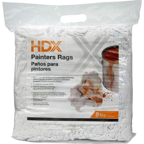 8 Lb All Purpose Wiping Cloths 6216 Bl10 05d Hdx The