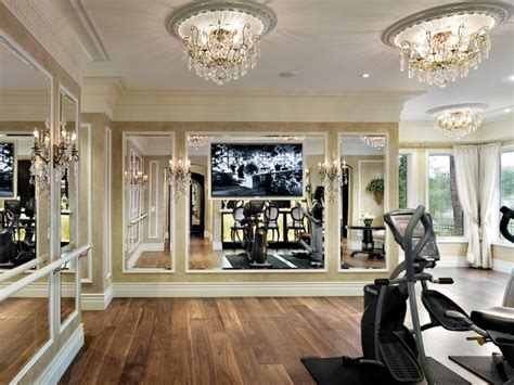 home gym interior design traditional home gym