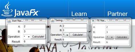 java swing vs etf devlab javafx vs java swing vs awt