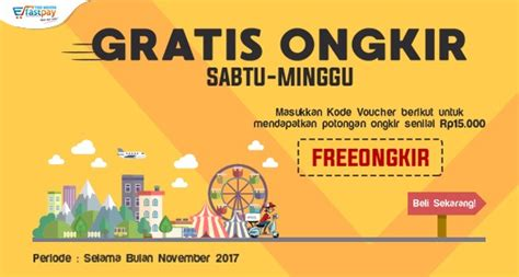 Belanja Gratis Ongkir Di Bulan November T0210 1 gratis ongkir setiap sabtu dan minggu selama bulan