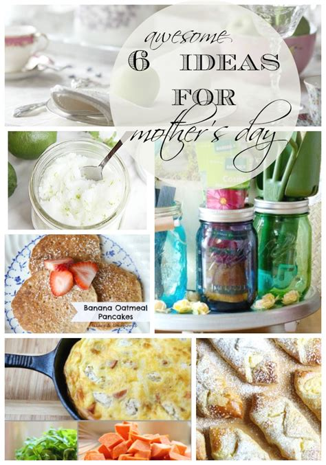 cooking gifts for mom mothers day ideas 6 diy gifts recipes setting for four